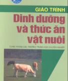 Giáo trình Dinh dưỡng và thức ăn vật nuôi: Phần 1 - NXB Hà Nội