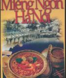 Văn hóa ẩm thực - Miếng ngon Hà Nội: Phần 1