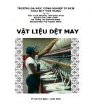 Giáo trình Vật liệu dệt may: Phần 2 - ĐH Công nghiệp TP.HCM