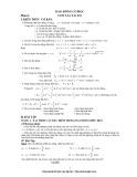 Tổng hợp các chuyên đề Vât lý 12 thường dùng