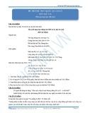 Đề thi thử THPT Quốc gia lần 02 môn Ngữ Văn