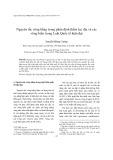 Tạp chí khoa học: Nguyên tắc công bằng trong phân định thềm lục địa và các vùng biển trong Luật Quốc tế hiện đại