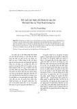 Tạp chí khoa học: Đề xuất mô hình chế định tài sản cho Bộ luật Dân sự Việt Nam tương lai