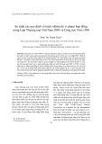 Tạp chí khoa học: So sánh các quy định về trách nhiệm do vi phạm hợp đồng trong Luật Thương mại Việt Nam 2005 và Công ước Viên 1980