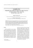 Tạp chí khoa học: Những tác động tới quy định về các tội xâm phạm quyền sở hữu trí tuệ trong Bộ luật Hình sự năm 1999