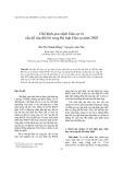 Tạp chí khoa học: Chế định giao dịch Dân sự và vấn đề sửa đổi bổ sung Bộ luật Dân sự năm 2005