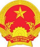 Bài thi viết: Tìm hiểu hiến pháp nước Cộng hòa Xã hội Chủ nghĩa Việt Nam
