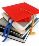 Đề tài: Nghiên cứu về thực trạng việc làm của những sinh viên khoa Giáo dục sau khi ra trường