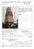Đề kiểm tra 1 tiết Hình học lớp 6 năm 2014 - Trường THCS Trần Thị Nhượng