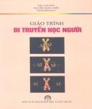 Giáo trình Di truyền học người: Phần 1 - NXB Khoa học kỹ thuật Hà Nội