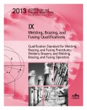 Ebook 2013 ASME BPVC IX - Welding, Brazing, and Fusing Qualification