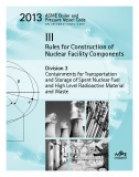 Ebook 2013 ASME BPVC III - Rules for Construction of Nuclear Facility Component