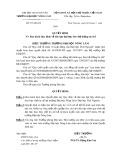 Quyết định số: 271/QĐ-ĐT năm 2009