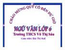 Bài giảng Ngữ văn lớp 6: Cây tre Việt Nam (Thép Mới) - Bùi Thị Huế