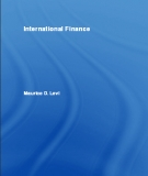 Ebook International Finance - Maurice D. Levi