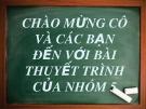 Bài thuyết trình: Thực trạng hoạt động bảo hiểm xã hội ở Việt Nam hiện nay phân tích các trường hợp của bảo hiểm thai sản