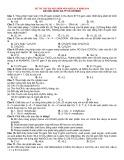 Đề thi thử Đại học môn Hóa khối A, B năm 2014 - ĐH Quốc gia TP Hồ Chí Minh