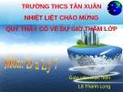 Bài giảng môn Địa lý lớp 7 Bài 50: Thực hành Viết báo cáo về đặc điểm tự nhiên của Ô-xtrây-li-a - GV. Lê Thanh Long