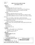 Giáo án Hóa học 9 tiết 53: Thực hành Tính chất của hiđrocacbon