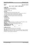 Giáo án Hóa học lớp 8 Bài 37: Axit - Bazơ - Muối (Tiết 2) - Trường THCS Lê Hồng Phong