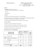 Đề kiểm tra Hình học Chương 1 năm học 2014 - 2015 môn Toán lớp 11 - Trường THPT Diễn Châu 2