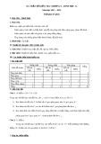 Ma trận Đề kiểm tra Hình học Chương 1 năm học 2011 - 2012