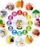 Tiểu luận Vệ sinh an toàn thực phẩm: Phụ gia trong thực phẩm