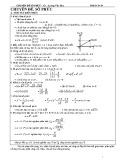Chuyên đề Số phức - GV. Lương Văn Huy