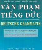 Văn phạm ngôn ngữ tiếng Đức: Phần 2