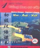 Giáo trình Tiếng Hoa sơ cấp Tập 1: Phần 2 - Vũ Lê Anh (biên dịch)