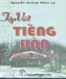 Ebook Tập viết tiếng Hàn: Phần 1 - Nguyễn Hoàng Thảo Ly