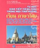 Hướng dẫn tự học giao tiếp tiếng Thái trong mọi tình huống: Phần 1