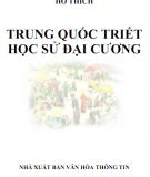Triết học sử đại cương - Trung Quốc: Phần 1
