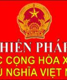 9 câu hỏi bài dự thi Tìm hiểu Hiến pháp nước Cộng hòa xã hội chủ nghĩa Việt Nam