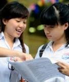 Dự thảo quy chế tuyển sinh năm 2015