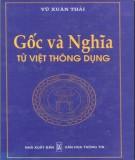 Văn học Việt Nam - Gốc và nghĩa từ Việt thông dụng: Phần 2
