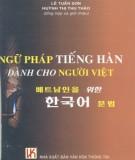 Học Ngữ pháp tiếng Hàn dành cho người Việt: Phần 1