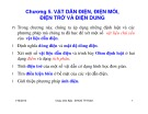 Bài giảng Trường điện từ: Chương 5 - Châu Văn Bảo (ĐH Công nghiệp TP.HCM)