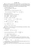 Bài tập Casio môn Hóa học