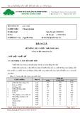 Mẫu Báo giá Hệ thống xử lý nước thải thủy sản Q = 500m3/ngày