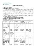 Đề kiểm tra 1 tiết môn Lịch sử lớp 6,7,8,9 - THCS Quyết Tiến