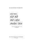 Giáo trình Cơ sở dữ liệu phân tán - TS. Phạm Thế Quế, TS. Hoàng Minh