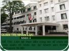 Bài thuyết trình Quản trị nhân lực: Liên hệ thực tiễn công tác tổ chức bộ máy quản trị nhân lực tại khách sạn Sofitel Metropole Hà Nội