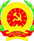 Giáo án thao giảng: Công tác tổ chức của Chi bộ, Đảng bộ cơ sở
