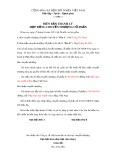 Biên bản thanh lý hợp đồng chuyển nhượng cổ phần - Mẫu 2