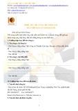 Mẫu Phiếu yêu cầu cung cấp thông tin đăng ký kinh doanh