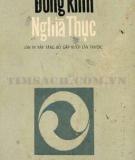 Ebook Đông kinh nghĩa thục - Nguyễn Hiến Lê