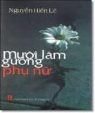 Ebook Mười lăm gương phụ nữ - Nguyễn Hiến Lê