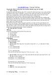 Chuyên đề: Tối ưu hóa bài toán đếm trong đại số tổ hợp - Hoàng Ngọc Hùng