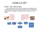 Bài giảng Lean 6 sigma very basic